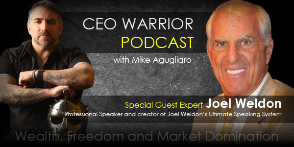 How to deliver a message to your customers with Joel Weldon