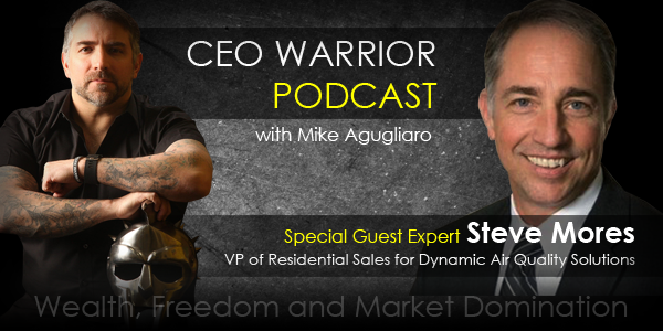 Helping entrepreneurs handle the stress of life with Steve Mores.