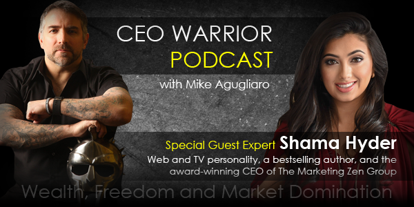Marketing in the digital age with Shama Hyder.
