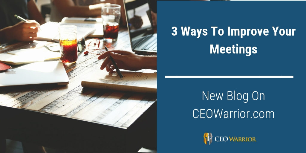 Improve Your Meetings