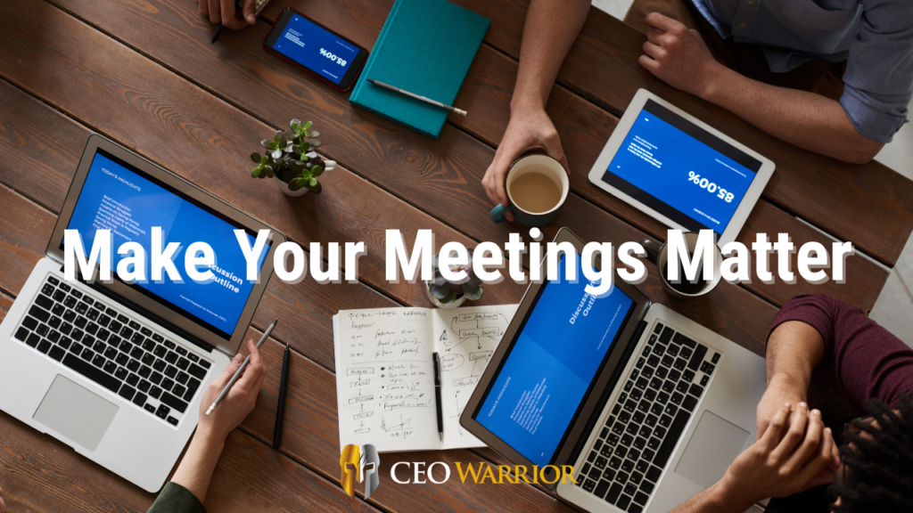 meetings, delegation, purpose