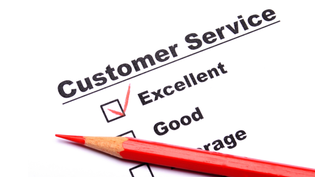 excellence, customer service